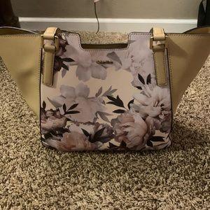 Floral Calvin Klein purse
